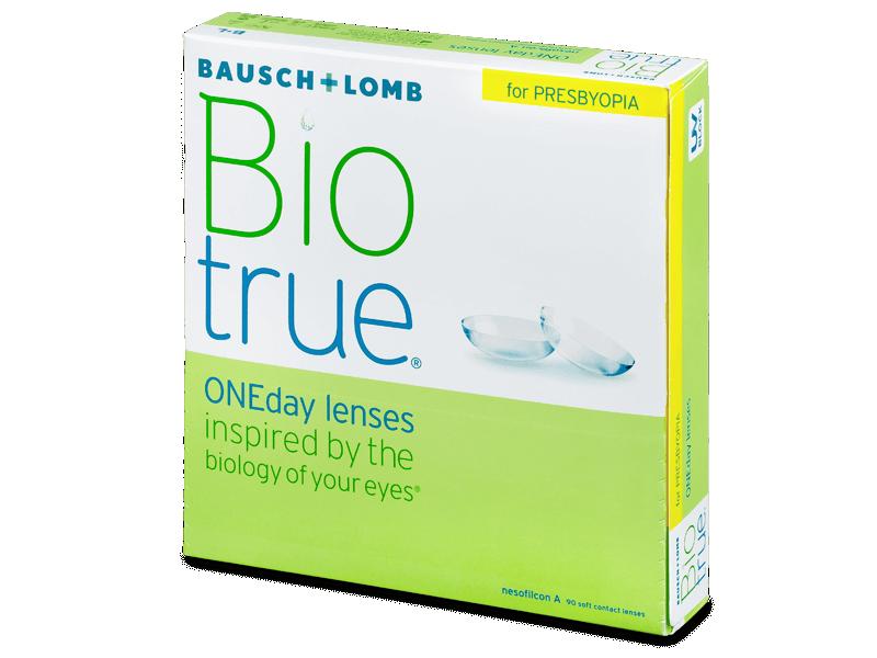 Biotrue ONEday for Presbyopia (90 šošoviek)
