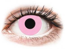 CRAZY LENS - Barbie Pink - dioptrické jednodenné (2 šošovky)