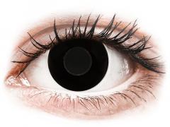 CRAZY LENS - Black Out - dioptrické jednodenné (2 šošovky)