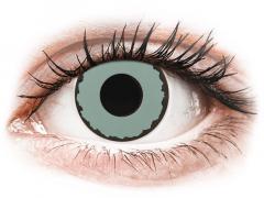 CRAZY LENS - Zombie Virus - dioptrické jednodenné (2 šošovky)