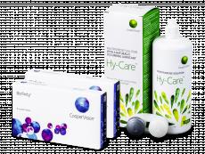 Biofinity (2x 6 šošoviek) + roztok Hy-Care 360 ml ZADARMO