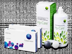 Biofinity (2x 3 šošovky) + roztok Hy-Care 360 ml ZADARMO