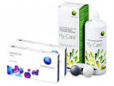 Biofinity Toric (2x 3 šošovky) + roztok Hy-Care 360 ml ZADARMO