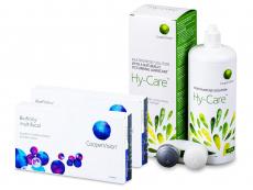 Biofinity Multifocal (2x 6 šošoviek) + roztok Hy-Care 360 ml ZADARMO