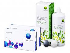 Biofinity XR (2x 3 šošovky) + roztok Hy-Care 360 ml ZADARMO