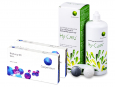 Biofinity XR Toric (2x 3 šošovky) + roztok Hy-Care 360 ml ZADARMO