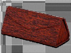 Puzdro na okuliare Brindle červené