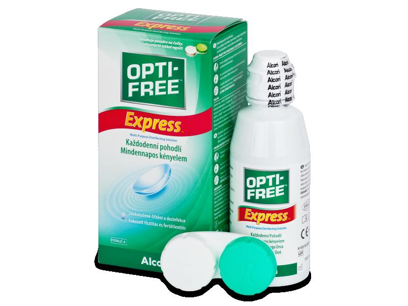 Roztok OPTI-FREE Express 120 ml s puzdrom