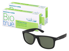 Biotrue ONEday (2x 30 šošoviek) + slnečné okuliare Alensa ZADARMO