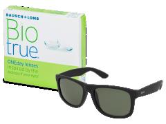 Biotrue ONEday (90 šošoviek) + slnečné okuliare Alensa ZADARMO