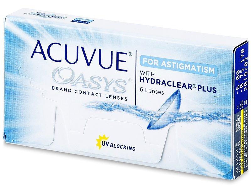 Acuvue Oasys for Astigmatism (6šošoviek)