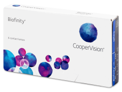 Biofinity (6šošoviek)