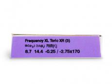 FREQUENCY XCEL TORIC XR (3šošovky)