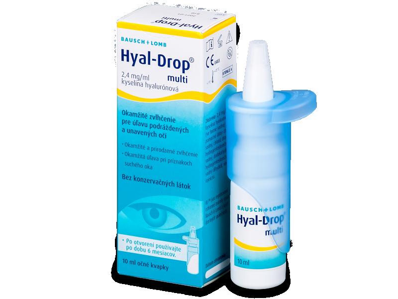 Očné kvapky Hyal-Drop Multi 10 ml