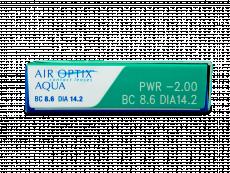 Air Optix Aqua (6šošoviek)