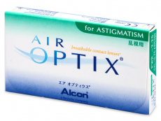 Air Optix for Astigmatism (6šošoviek)