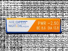 Air Optix Night and Day Aqua (3šošovky)